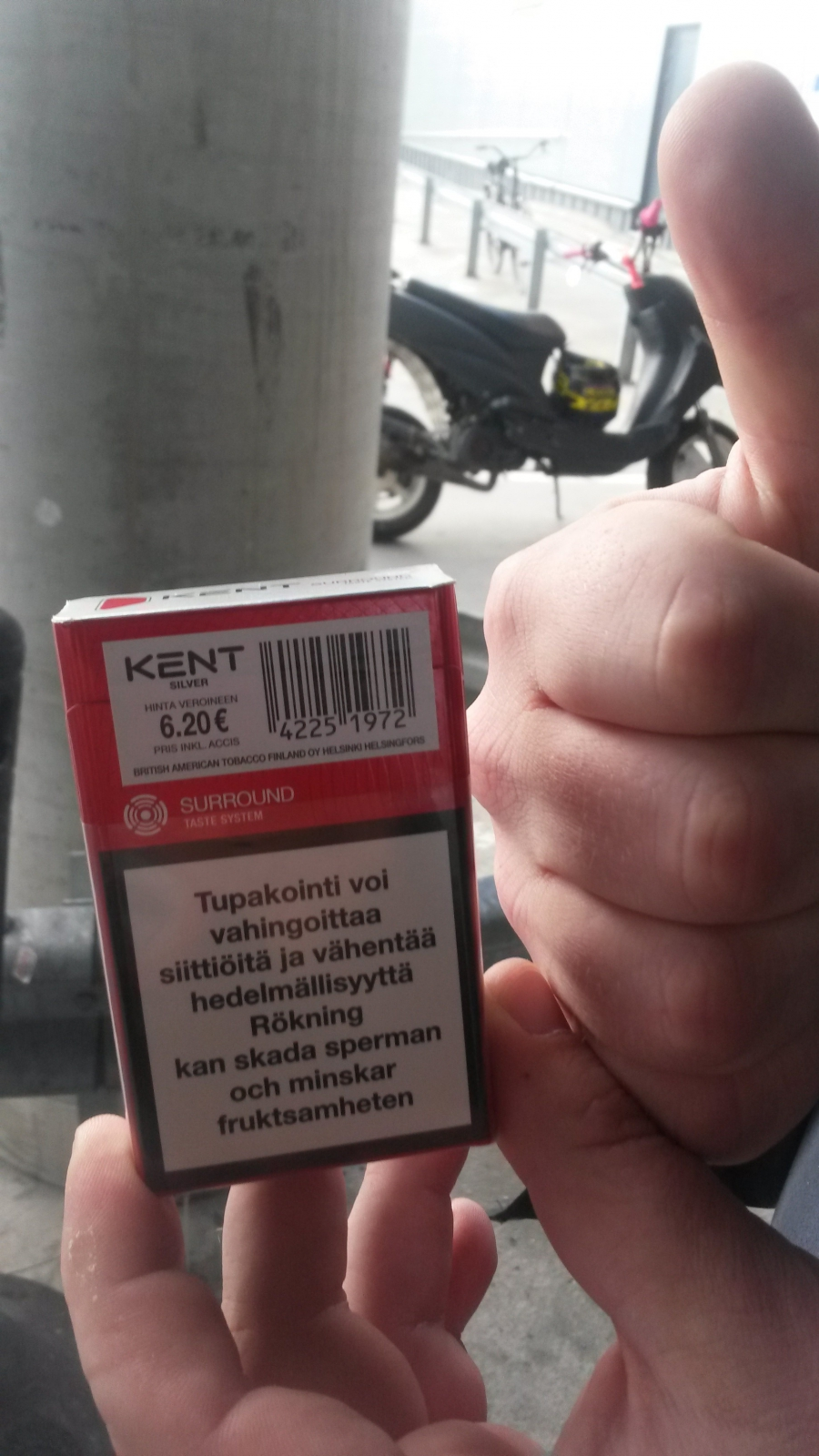 Кент по-фински