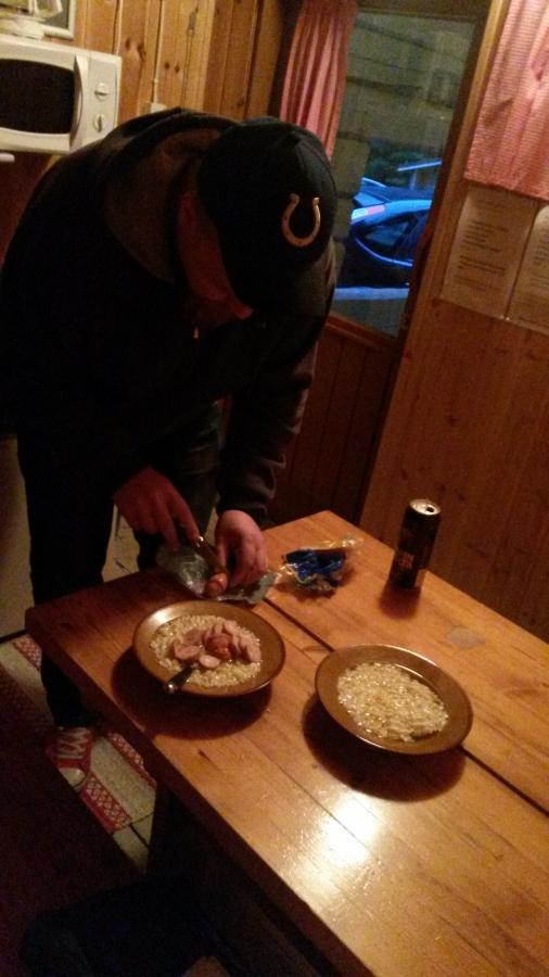 Суровый финский ужин