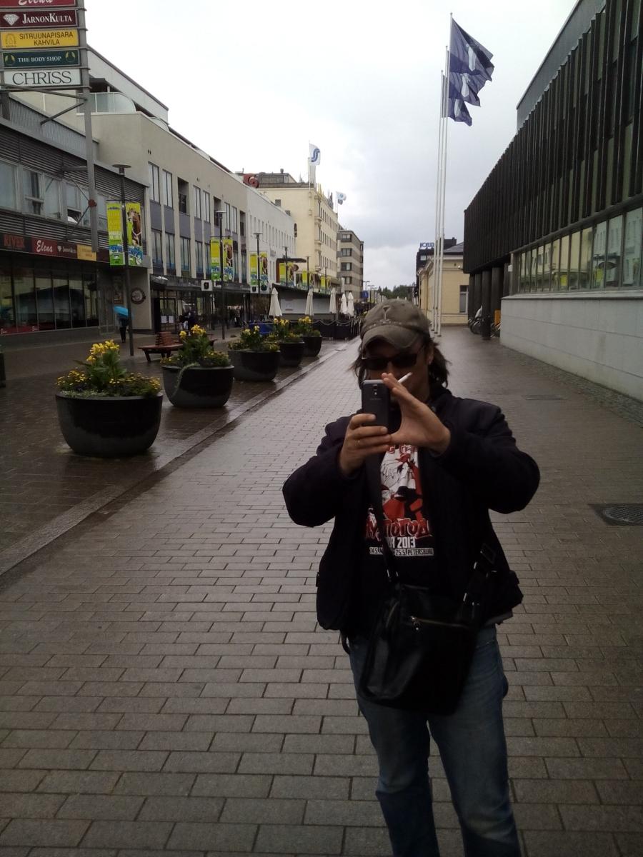 Пешеходный центр Лаппеенранты