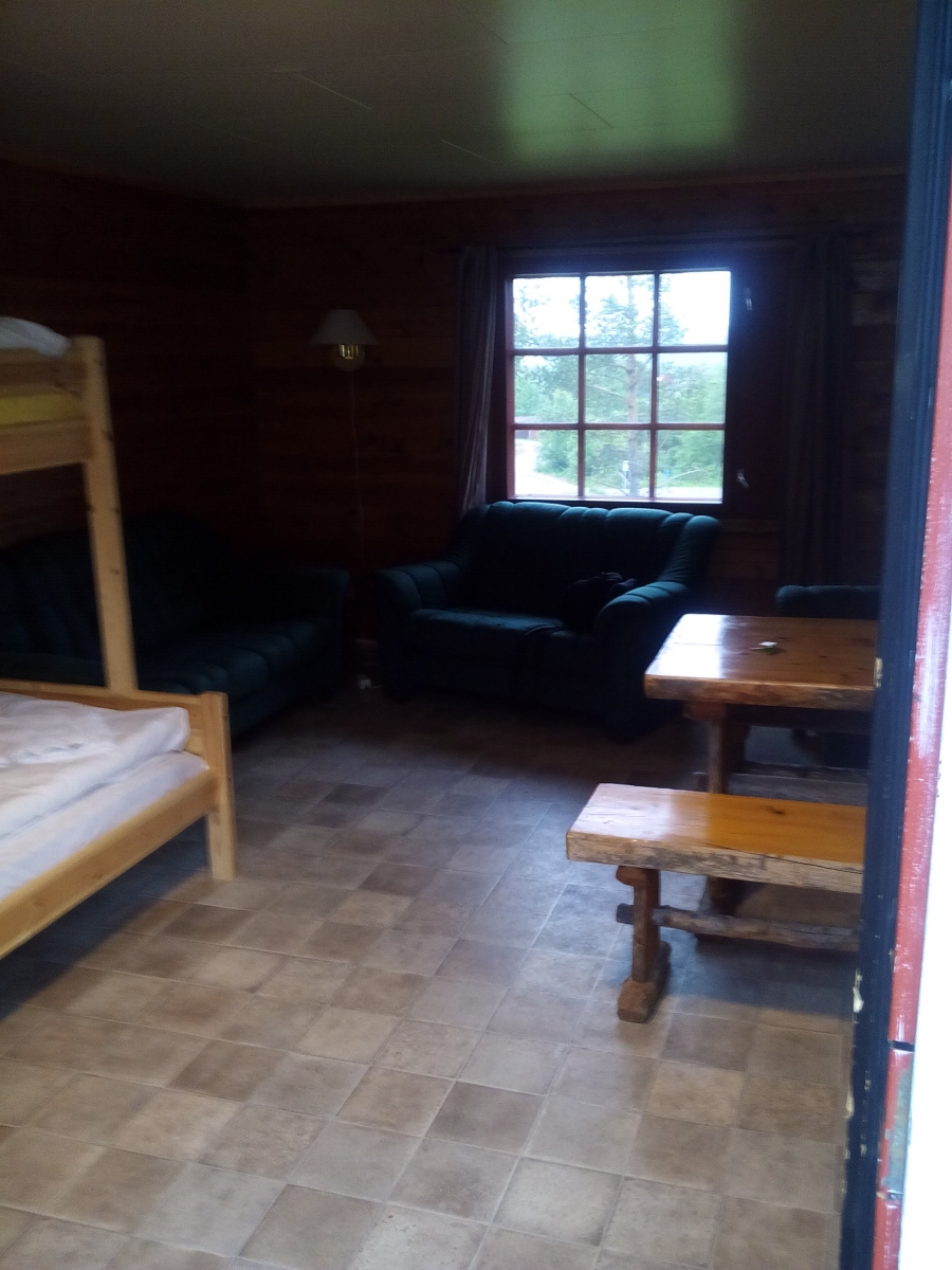 Наша комнатенка в Норвегии