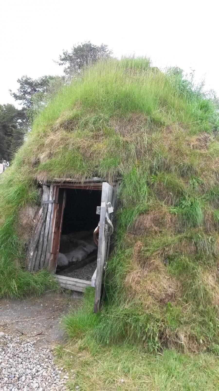 Еще одно жилище коренных жителей Норвегии