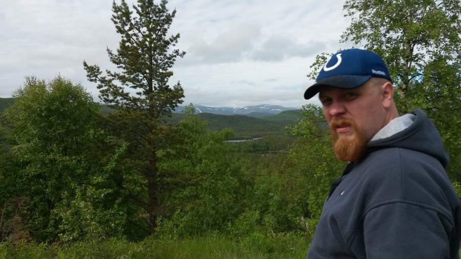 Лес, а дальше горы