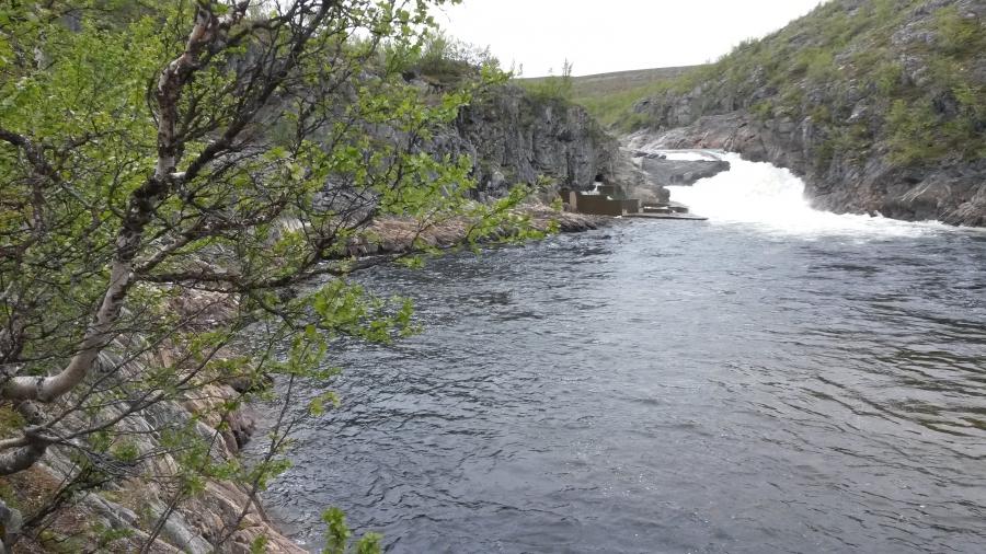 Первая норвежская горная речушка