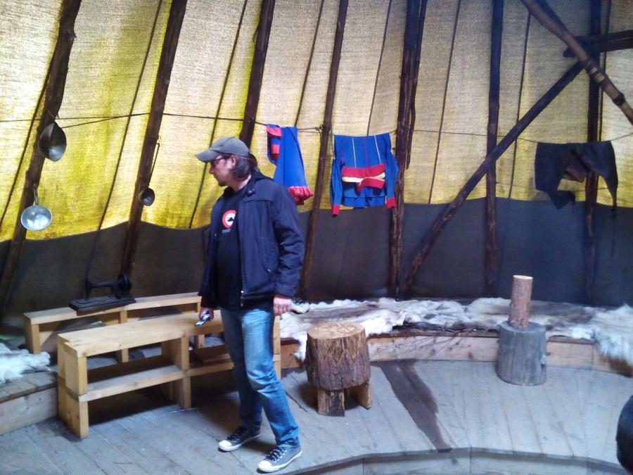 Внутренность шатра