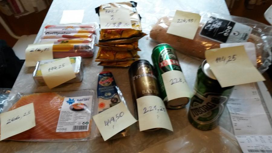 Бомж-пакеты по 109 рублей. Я плачу
