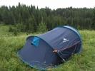 Вот так стояла наша палатка