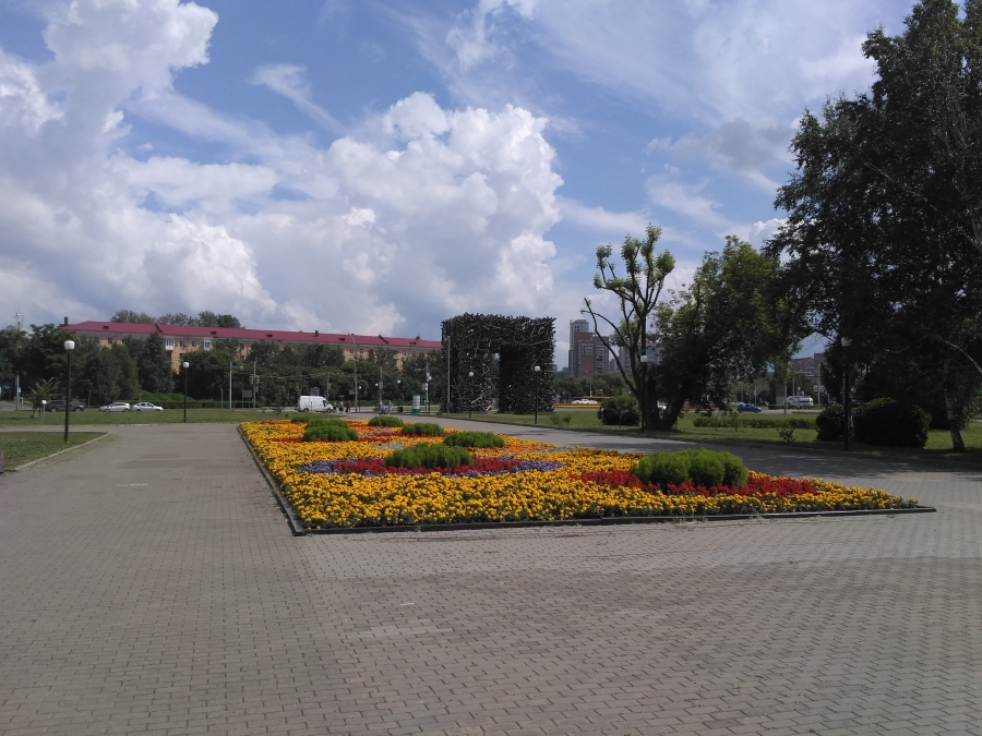 Пермь. Сад камней