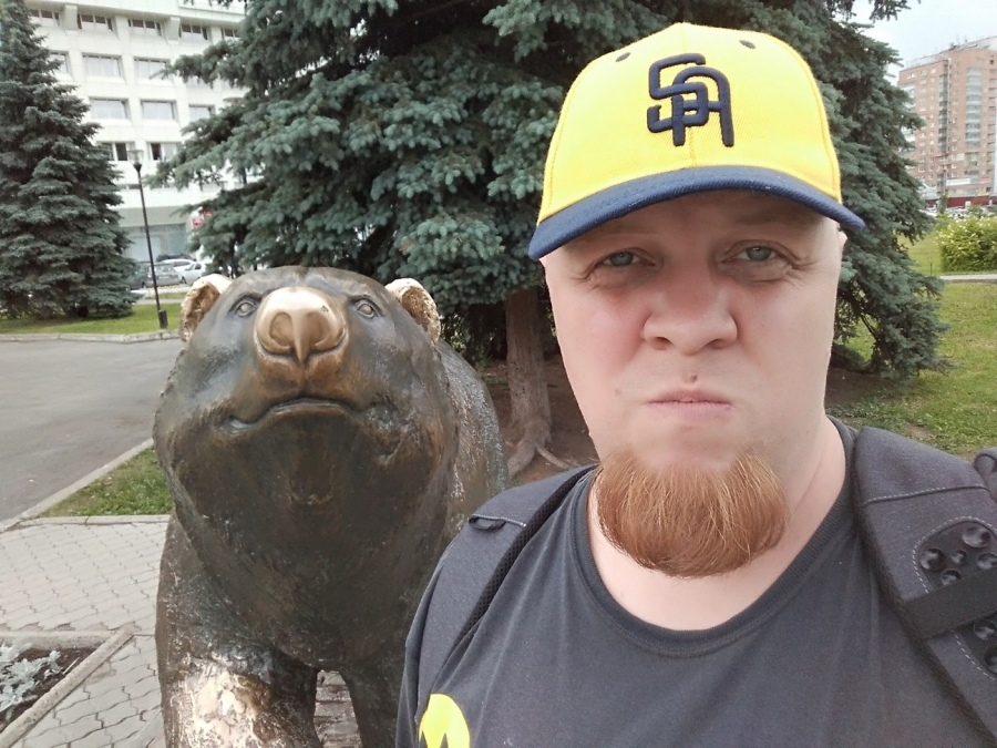 Символ Перми - добрейший медведь