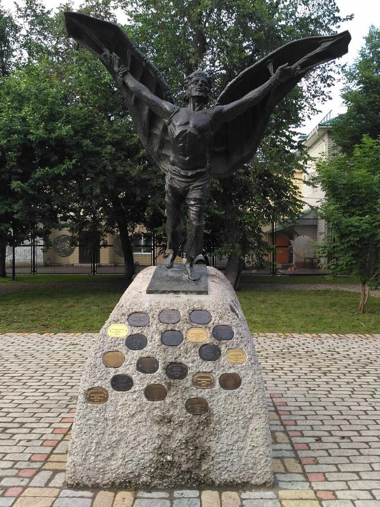 Памятник летуну Никитке