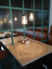 Розетки под каждым столом