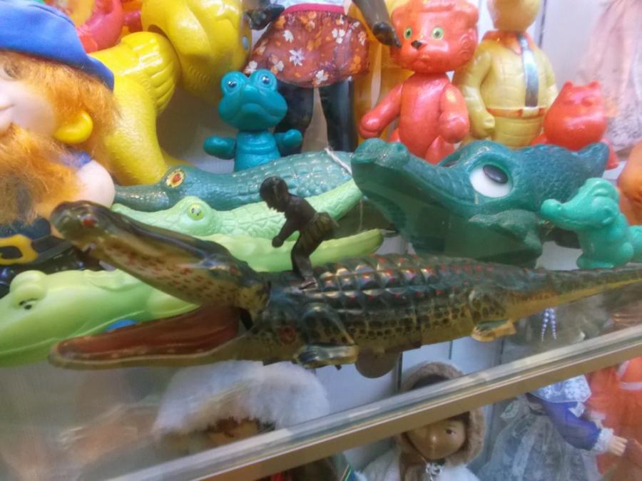 Крокодил и наездник