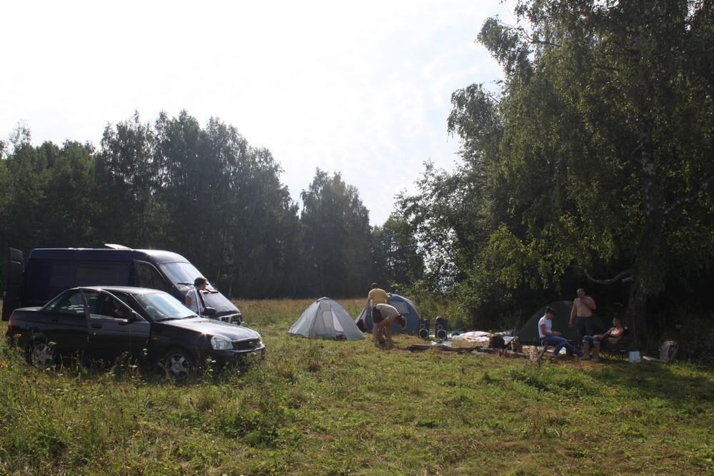 Правильно поставленная палатка дает бессонные ночи